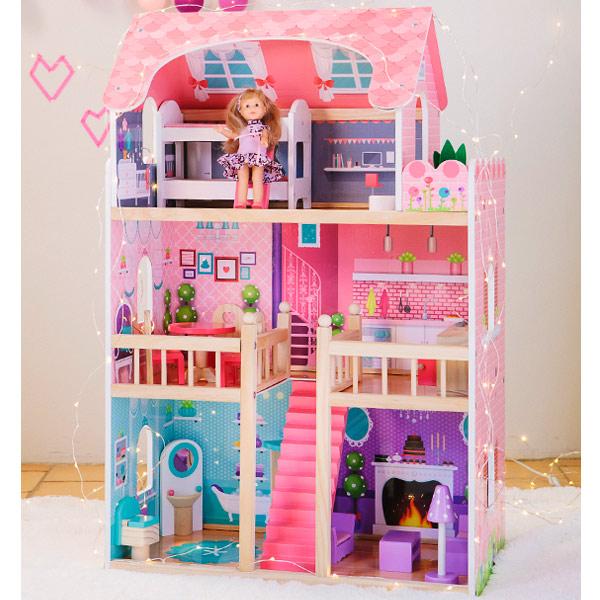 Casa de mu ecas grande kukut joguines - Casa munecas eurekakids ...
