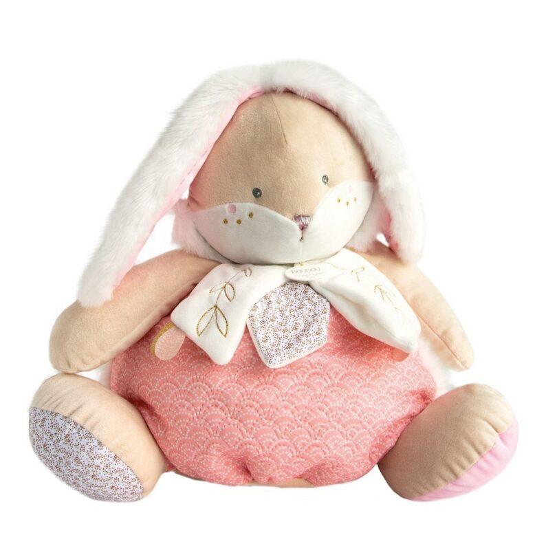peluche-range-pyjama-rose-lapin-sucre-doudou-compagnie